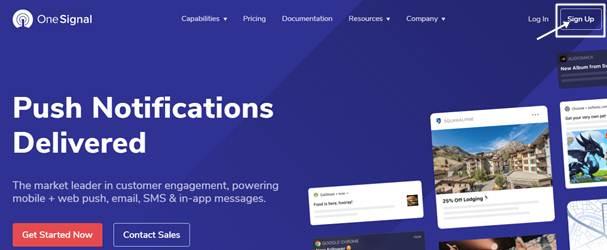 Web Push Notifications WordPress