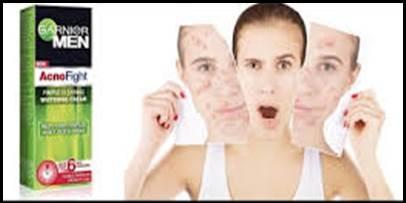 Keel Muhase Ki Cream Garnier Men Acno Fight Whitening Day Cream