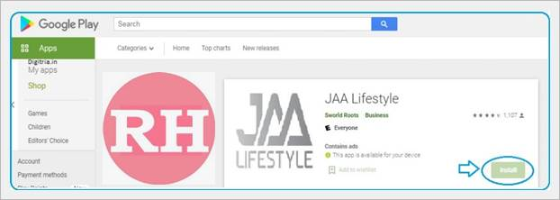 Jaa Lifestyle Sign Up In Hindi